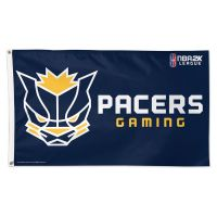 Pacers Gaming Indiana Pacers Flag - Deluxe 3' X 5'