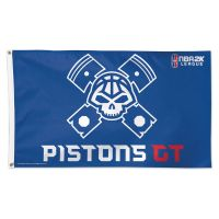Pistons GT Detroit Pistons Flag - Deluxe 3' X 5'