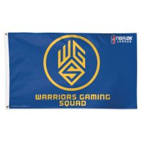 Warriors Gaming Squad Golden State Warriors Flag - Deluxe 3' X 5'