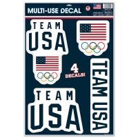 "USOC Team USA Logo Multi-Use Decal 11"" x 17"""