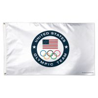 USOC Olympic Team US OLYMPIC TEAM Flag - Deluxe 3' X 5'