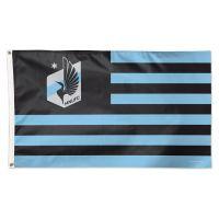 Minnesota United FC / Patriotic Americana Flag - Deluxe 3' X 5'