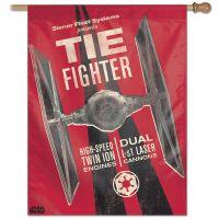 "Original Trilogy / Original Trilogy Vertical Flag 28"" x 40"" Tie Fighter"
