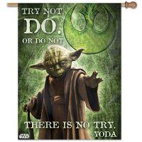 "Original Trilogy / Original Trilogy Vertical Flag 28"" x 40"" Yoda"