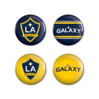 "Los Angeles Galaxy Button 4 Pack 1 1/4"" Rnd"
