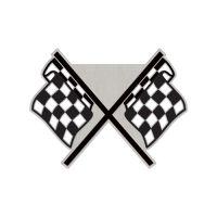 NASCAR Logo Collector Pin Jewelry Card