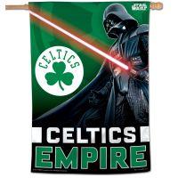 "Boston Celtics / Star Wars Star Wars Vertical Flag 28"" x 40"""