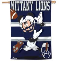 "Penn State Nittany Lions / Disney MICKEY MOUSE Vertical Flag 28"" x 40"""