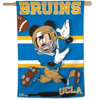 "UCLA Bruins / Disney MICKEY MOUSE Vertical Flag 28"" x 40"""