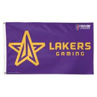 Lakers Gaming Los Angeles Lakers Flag - Deluxe 3' X 5'