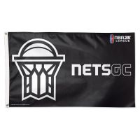 Brooklyn Nets GC Brooklyn Nets Flag - Deluxe 3' X 5'