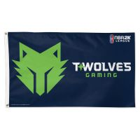 Twolves Gaming Minnesota Timberwolves Flag - Deluxe 3' X 5'