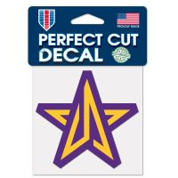 """Lakers Gaming Los Angeles Lakers Perfect Cut Color Decal 4"""" x 4"""""""