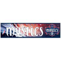 "Washington Mystics Bumper Strip 3"" x 12"""