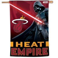 "Miami Heat / Star Wars Star Wars Vertical Flag 28"" x 40"""