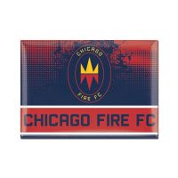 "Chicago Fire Metal Magnet 2.5"" x 3.5"""