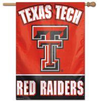 """Texas Tech Red Raiders Vertical Flag 28"""" x 40"""""""