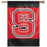 """NC State Wolfpack Vertical Flag 28"""" x 40"""""""