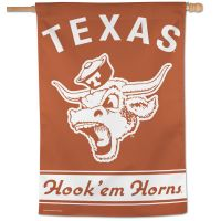 "Texas Longhorns /College Vault Vertical Flag 28"" x 40"""