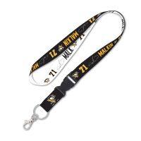 """Pittsburgh Penguins Lanyard w/detachable buckle 1"""" Evgeni Malkin"""