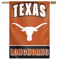 "Texas Longhorns Vertical Flag 28"" x 40"""