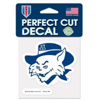 "Arizona Wildcats / Vintage Collegiate VINTAGE Perfect Cut Color Decal 4"" x 4"""