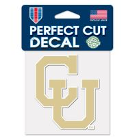 "Colorado Buffaloes / Vintage Collegiate Perfect Cut Color Decal 4"" x 4"""