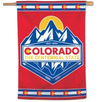 "State / Colorado Vertical Flag 28"" x 40"""
