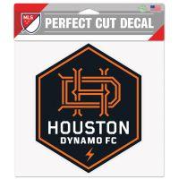 "Houston Dynamo Perfect Cut Color Decal 8"" x 8"""