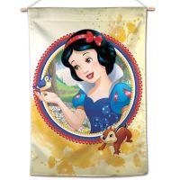 "Princesses / Disney SNOW WHITE W/ CHIPMUNK Vertical Flag 28"" x 40"" Snow White"