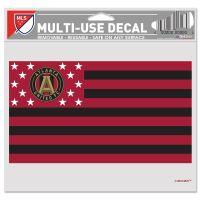 "Atlanta United / Patriotic Americana Multi-Use Decal -Clear Bckrgd 5"" x 6"""