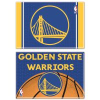 """Golden State Warriors Rectangle Magnet, 2pack 2"""" x 3"""""""