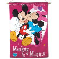 "Mickey & Friends / Disney Mickey & Minnie Vertical Flag 28"" x 40"" Mickey & Friends"