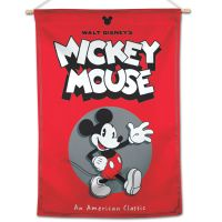"""Mickey Mouse / Disney Mickey Mouse An American Classic Vertical Flag 28"""" x 40"""" Mickey Mouse"""