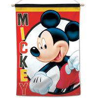 """Mickey Mouse / Disney Mickey Mouse Vertical Flag 28"""" x 40"""" Mickey Mouse"""