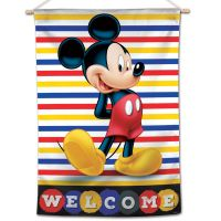 """Mickey Mouse / Disney Mickey Mouse Welcome Vertical Flag 28"""" x 40"""" Mickey Mouse"""