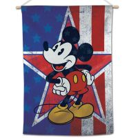 """Mickey Mouse / Disney Mickey Mouse Heritage Vertical Flag 28"""" x 40"""" Mickey Mouse"""