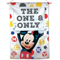 """Mickey Mouse / Disney Mickey Mouse The One & Only Vertical Flag 28"""" x 40"""" Mickey Mouse"""