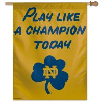 "Notre Dame Fighting Irish PLACT Vertical Flag 28"" x 40"""