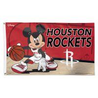 Houston Rockets / Disney Flag - Deluxe 3' X 5'