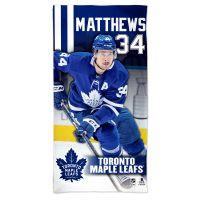 "Toronto Maple Leafs Spectra Beach Towel 30""  x 60"" Auston Matthews"