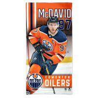 "Edmonton Oilers Spectra Beach Towel 30""  x 60"" Connor McDavid"