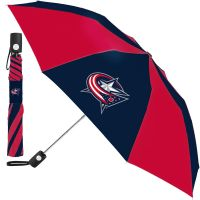 Columbus Blue Jackets Auto Folding Umbrella