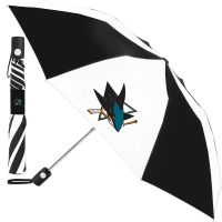 San Jose Sharks Auto Folding Umbrella