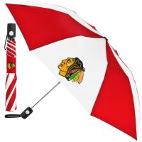 Chicago Blackhawks Auto Folding Umbrella