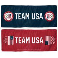 "USOC Team USA Logo Cooling Towel 12"" x 30"""