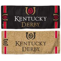 "Kentucky Derby Cooling Towel 12"" x 30"""