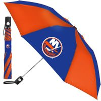 New York Islanders Auto Folding Umbrella