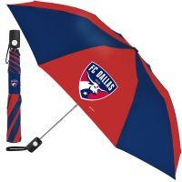 FC Dallas Auto Folding Umbrella