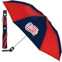 New England Revolution Auto Folding Umbrella
